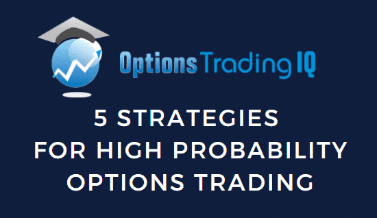Trading options with a high probability