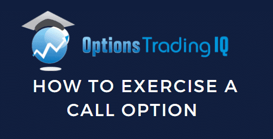 how to exercise a call option