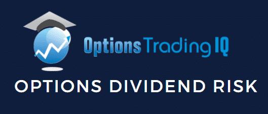 Option dividend risk